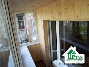 """Обшивка балконов деревянной вагонкой от ТМ """"4 Этаж"""" — 4 этаж, ТМ"""