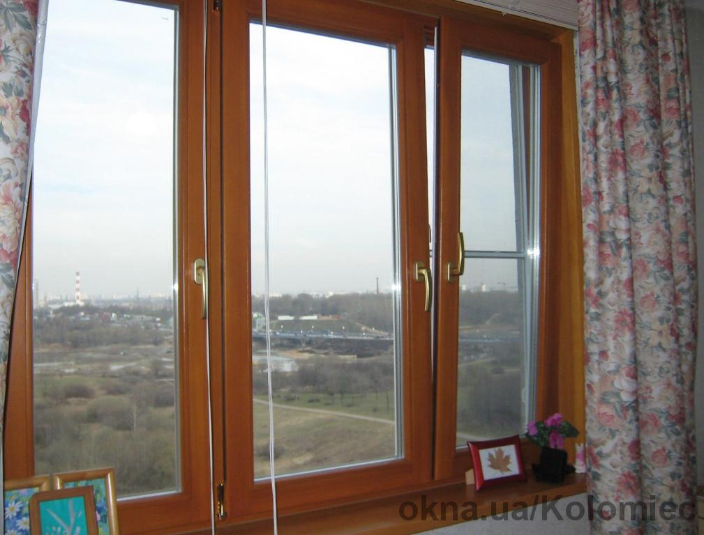 Окна деревянные и балконы из массива