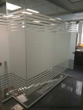 Тонировка стеклянных перегородок. Тонировка стекла — ТМ Алюпластика