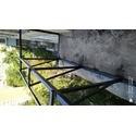 Сварка перил балкона с выносом 30см
