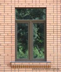 Окно с фрамугой 1200*1900. Профиль VEKA SOFTLINE AD 70mm, цвет золотой дуб