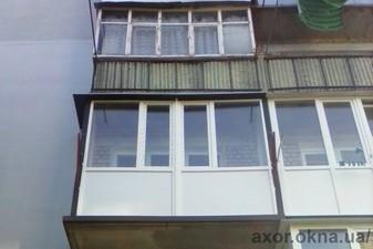 Остекление балкона жилого дома (фурнитура AXOR) — AXOR INDUSTRY