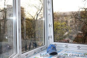 Регулировка пластиковых окон на Дарнице — Балкон - Дизайн