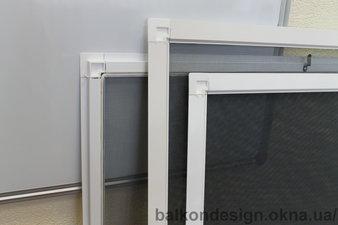Москитные сетки для пластиковых окон в Соломенском районе — Балкон - Дизайн