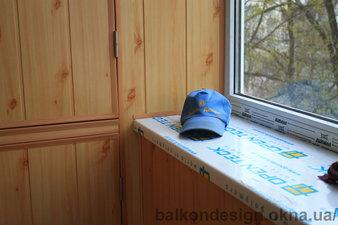 Внутренняя обшивка балкона МДФ панелями — Балкон - Дизайн
