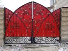 Ворота и заборы из металопрофиля. Черкассы и обл