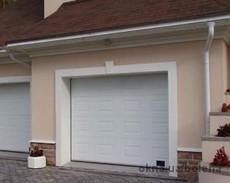 Подъемные гаражные ворота Alutech Trend 6000х3000 мм