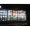 Раздвижные решетки в сеть магазинов Комфи