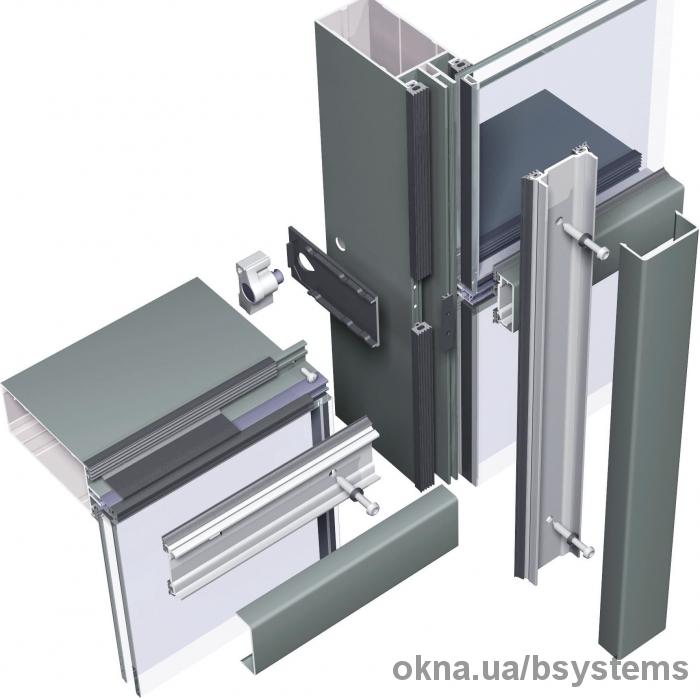 Обработка алюминиевого профиля заказчика, сборка конструкций