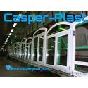 Готовые окна на складе Каспер-Пласт