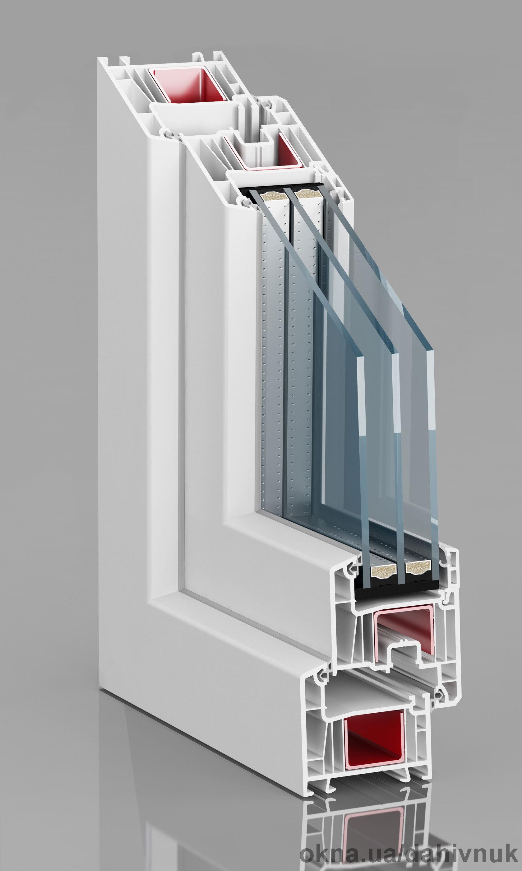 Пластикові вікна та двері (ПВХ) Epsilon Епсілон, Рівне