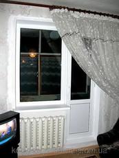 Металлопластиковый балконный блок 2140*1320
