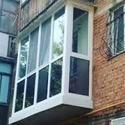 ПВХ балкон под ключ