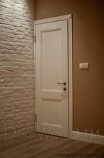 Белые двери, межкомнатные двери из массива ясеня в загородном доме г. Ирпень — DoorWooD
