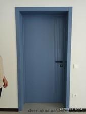 Наши работы: монтаж межкомнатных дверей — Вікна Стиль