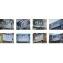 Обустройство балконов.