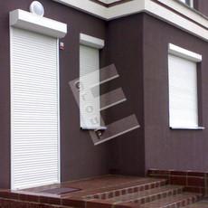 Роллеты защитные на двери