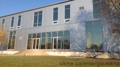 Фасадне скління будівлі — Энерго-Окна