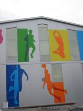 Фасадне скління спортзалу — Энерго-Окна
