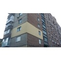 Замена окон на энергосберегающие с утеплением фасада в многоквартирном доме в Киеве