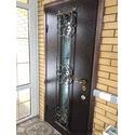Стальные входные двери в загородном доме, г. Богодухов