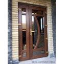 Двери входные ламинированные в коттедже, г. Ахтырка, Сумская обл.