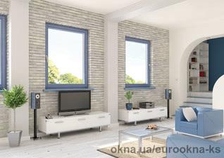 Поворотно откидные металлопластиковые окна Херсон — Euro-Okna