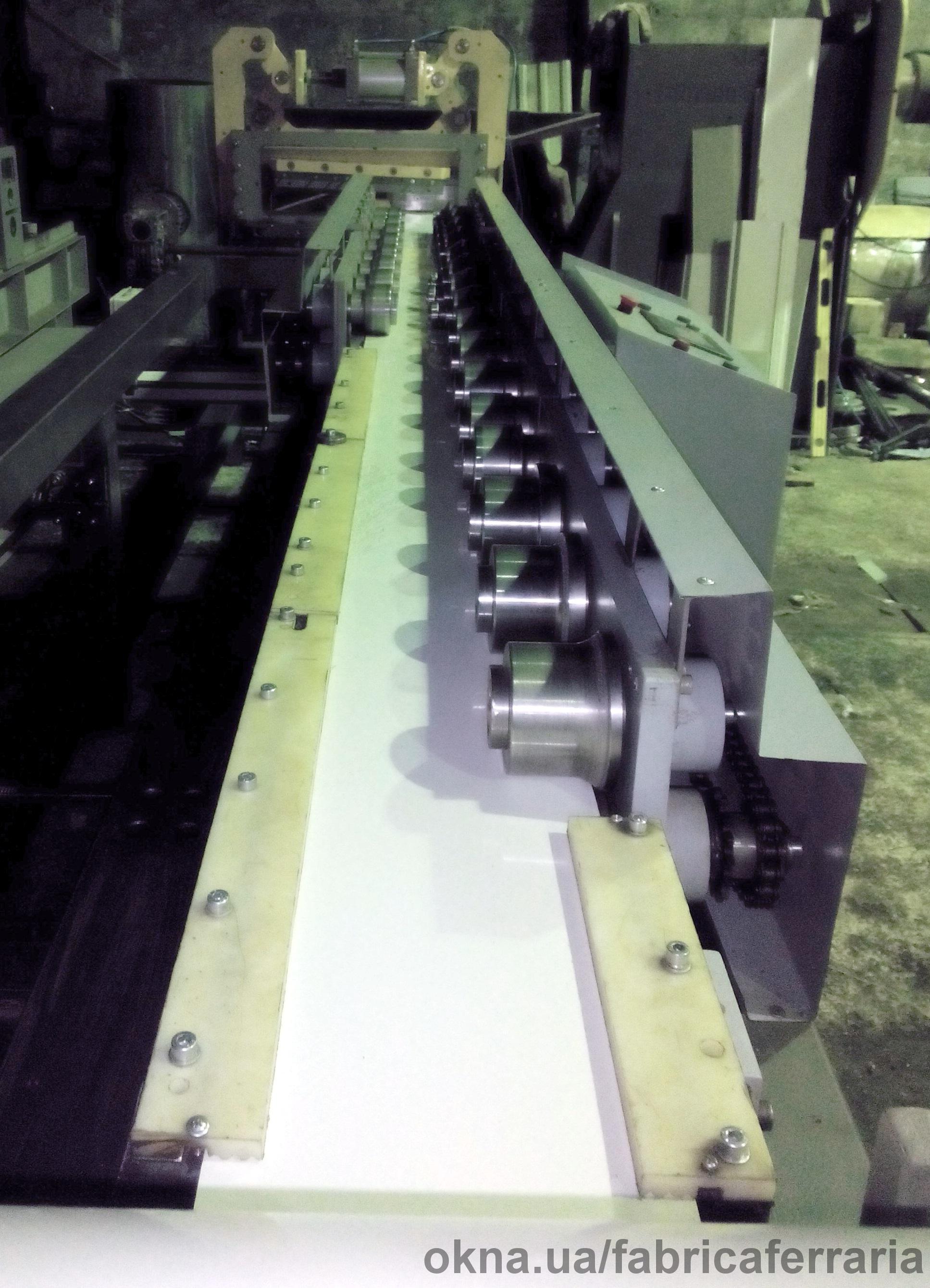 Линия изготовления металлических отливов