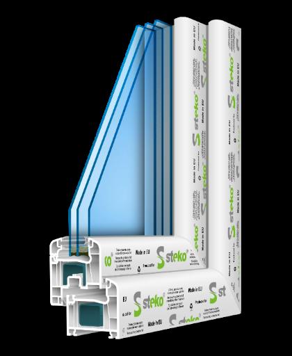 R 500 1300ммх1400мм Разумное предложение цена-качество, двухкамерный стеклопакет с энергосбережением, 5-камерный профиль, немецкая фурнтура.