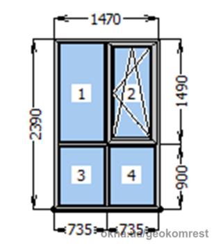 71e879dff Готовые пластиковые окна (Распродажа) в Киеве. Купить или заказать ...