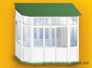 Французский балкон (от пола до потолка)