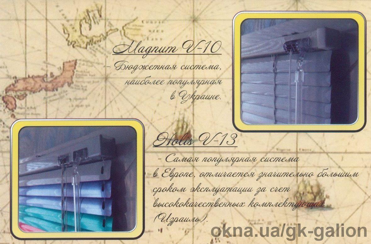Горизонтальные жалюзи Magnum V-10 Эконом.