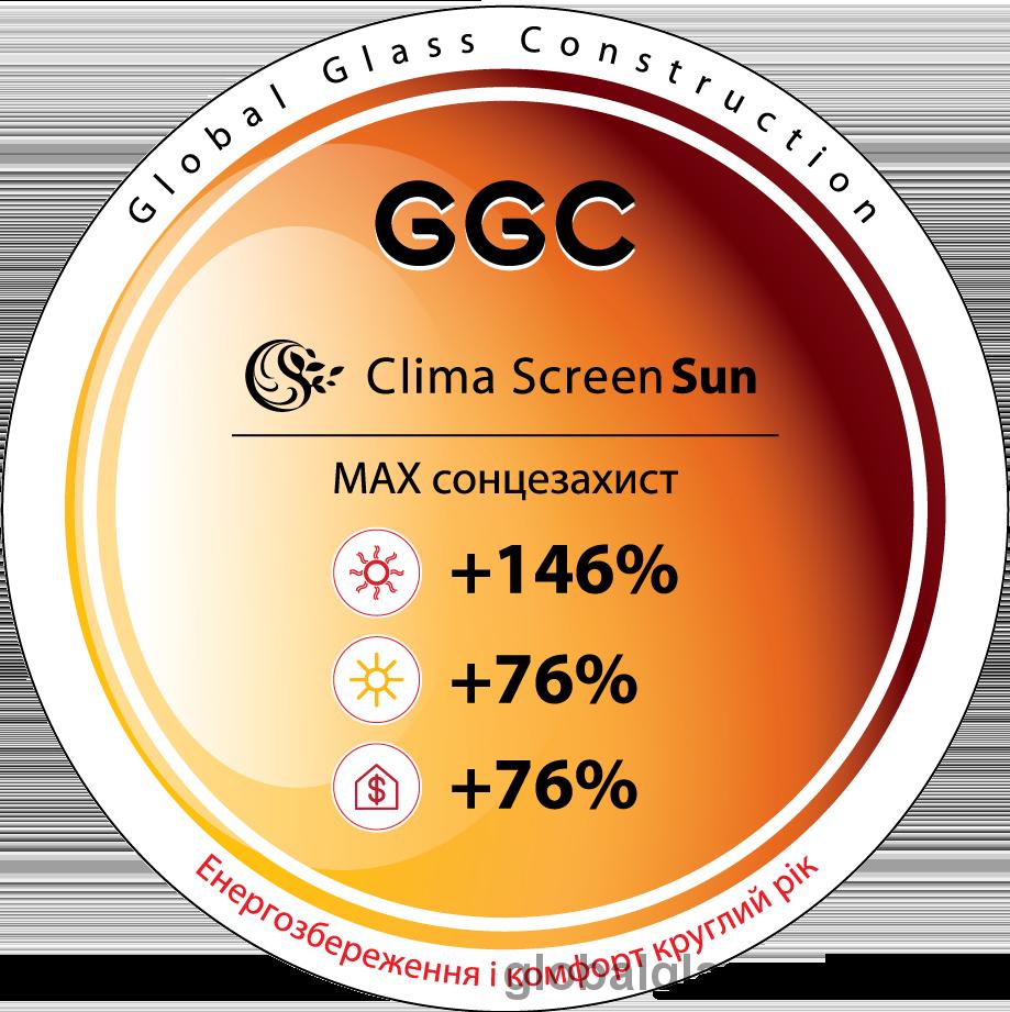 Технічні характеристики Clima Screen Sun