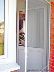 Дверные москитные сетки по специальной цене от компании Good Master.
