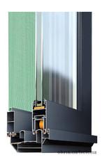 Система алюминиевого профиля 1600 слайдинг стандарт.