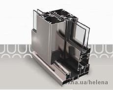 Система алюминиевого профиля 45 Т термослайдинг.