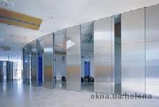 Алюминиевая система 18 D для офисных перегородок.