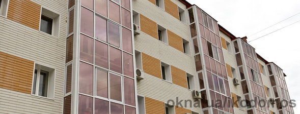 остекление балконов жилого дома — Икодомос