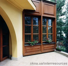 Дерево-алюминиевые окна Hols - alu — Интерресурсы