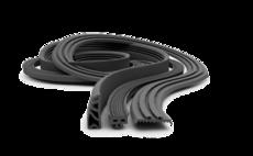 Ущільнювачі гумові монолітні неформові для машин автомобільного, тракторного, сільськогосподарського, будівельного і дорожнього машинобудування