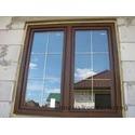 Ламинирование окно со шпроссами