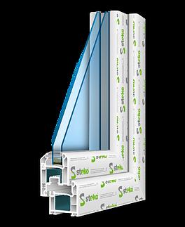 Steko S300 с фурнитурой AXOR, ст-т однокамерный энергосберегающий, размер 1300*1400