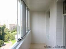 Раздвижное окно из алюминия