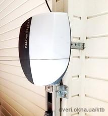 Автоматика к гаражным воротам - Nice
