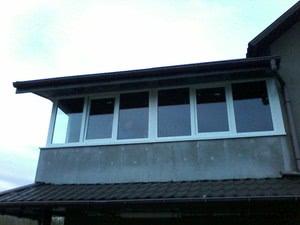 Балкон в частном доме — КВК