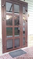 Входные двери с алюминиевого профиля — Ловекс-Окна