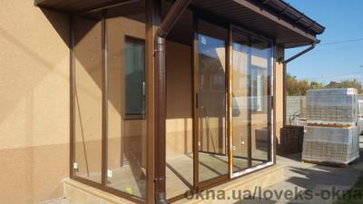 Тамбур с раздвижными дверями — Ловекс-Окна
