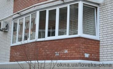 Остекление балкона — Ловекс-Окна