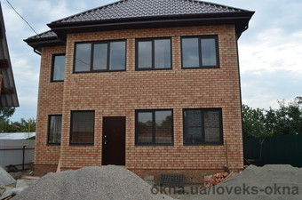 Алюминиевые окна в доме — Ловекс-Окна