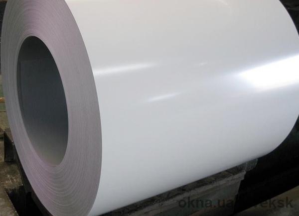 Гладкий лист RAL 9003 в пленке